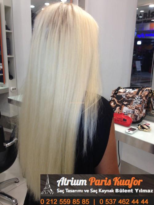 yıpranmış saçlar