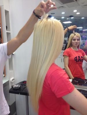 Halka Saç Kaynak Öncesi ve Sonrası