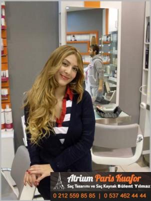 Uzun Düz Saçlar İçin Maşa İle Pratik Saç Şekillendirme