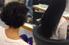 Kısa Saçlara Saç Kaynak Uygulaması
